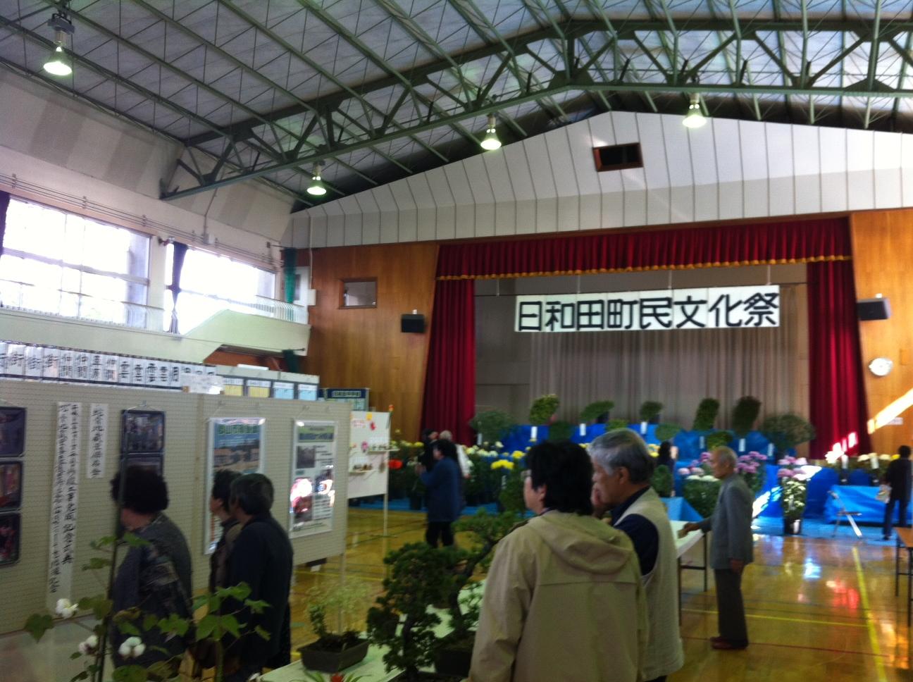 秋の文化祭 (日和田町民文化祭)_f0259324_11135166.jpg
