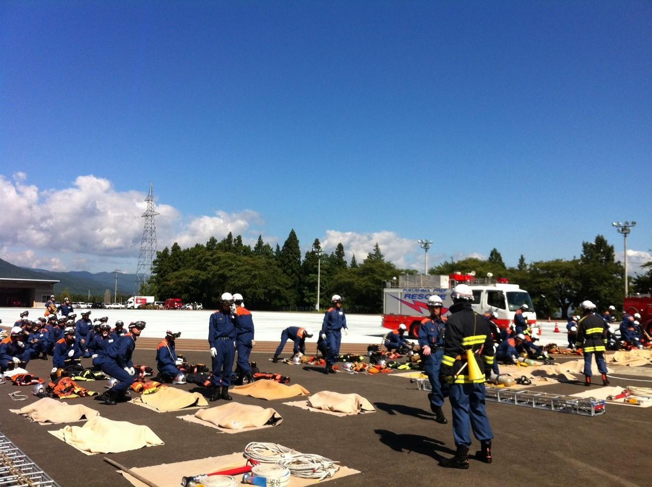 第72期 消防職員初任教育 卒業式_f0259324_11564950.jpg