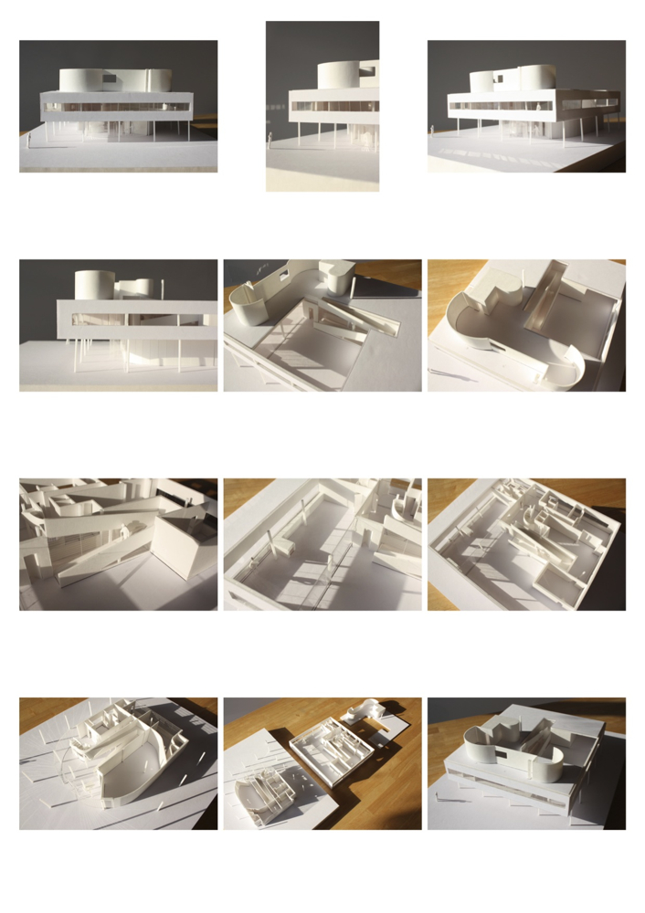 ル・コルビュジエ サボア邸 完成しました!!_f0165030_8315776.jpg