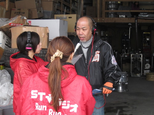 STVラジオ ランラン レポート IN  S・D-76    北海道札幌北広島_a0196542_2081685.jpg