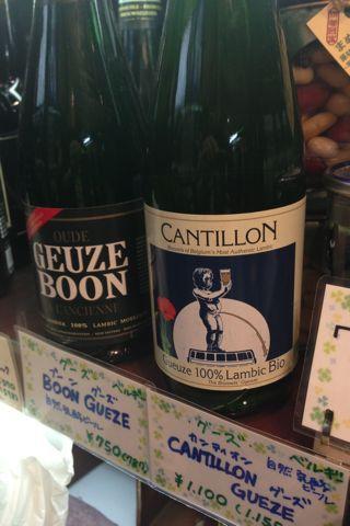"""ベルギーから\""""ブーングース\""""と\""""カンティョングース\""""ボトルビール♪自然発酵の独特の香りと酸味が特徴です♪_c0069047_2138513.jpg"""