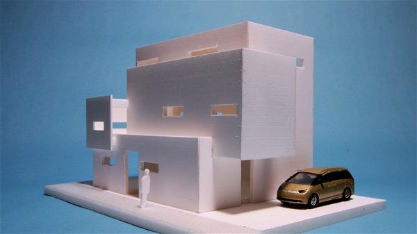 「浅草の二世帯住宅」_f0230666_1973168.jpg