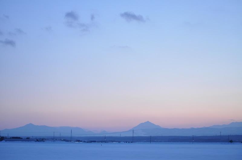 雪原のキタキツネ_b0068572_2039121.jpg