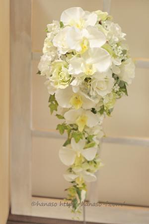 胡蝶蘭 造花のキャスケード_c0198981_21351020.jpg