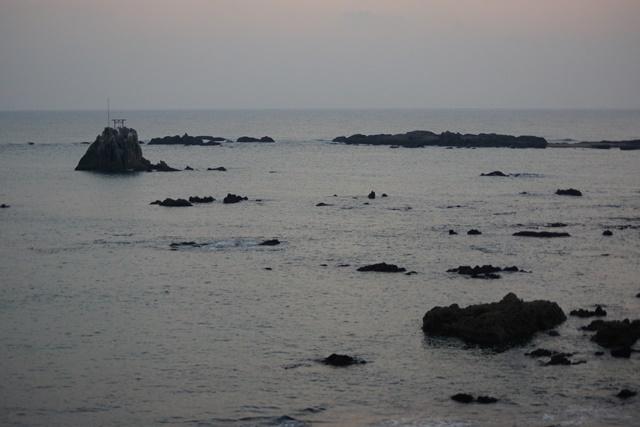 肥薩線おれんじ鉄道と美しい夕日、阿久根市の美しい夕焼け、日本一の夕日_d0181492_206232.jpg