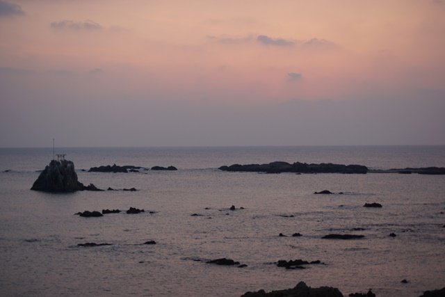 肥薩線おれんじ鉄道と美しい夕日、阿久根市の美しい夕焼け、日本一の夕日_d0181492_206791.jpg