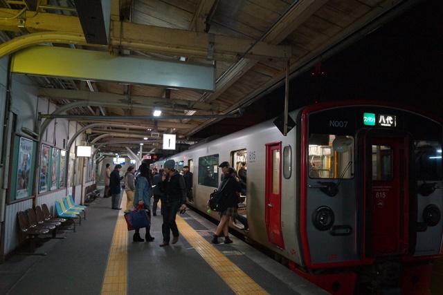 肥薩線おれんじ鉄道と美しい夕日、阿久根市の美しい夕焼け、日本一の夕日_d0181492_2083067.jpg