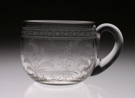 "Baccarat ""Fougeres\"" Punch Cup with Hundle_c0108595_013216.jpg"