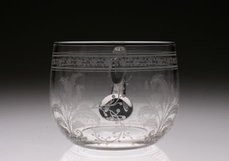 "Baccarat ""Fougeres\"" Punch Cup with Hundle_c0108595_018181.jpg"