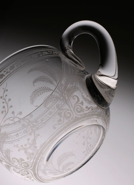 "Baccarat ""Fougeres\"" Punch Cup with Hundle_c0108595_0202859.jpg"