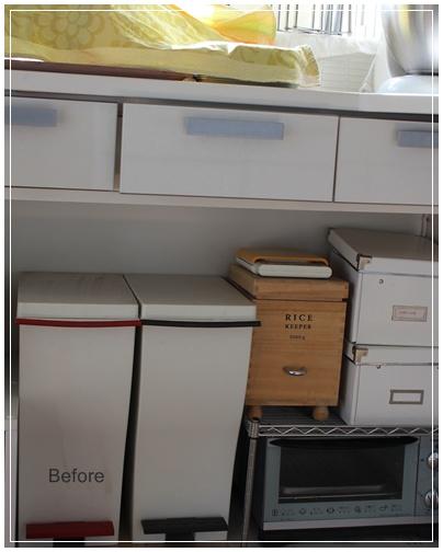 キッチン収納 Before→After_c0141025_20113913.jpg
