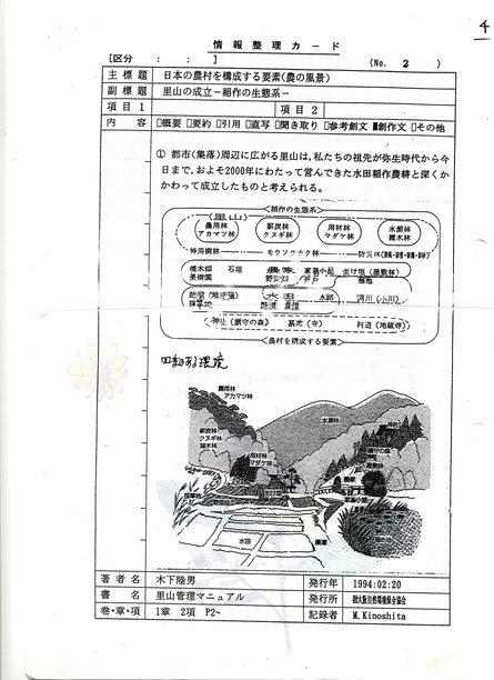 「里山の自然と人々の暮らし」  by  (岡田)_c0239329_17564996.jpg