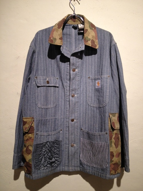 CUSTOM SERIES *DENIM&WORK (herringbone coverall)_f0126931_19555577.jpg