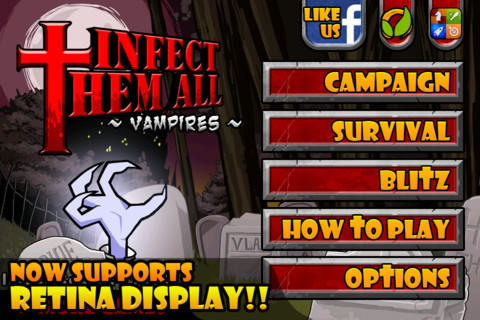 iPhone無料アプリ|Infect Them All : Vampires(無料セール中)_d0174998_14414985.jpg
