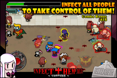 iPhone無料アプリ|Infect Them All : Vampires(無料セール中)_d0174998_14431749.jpg