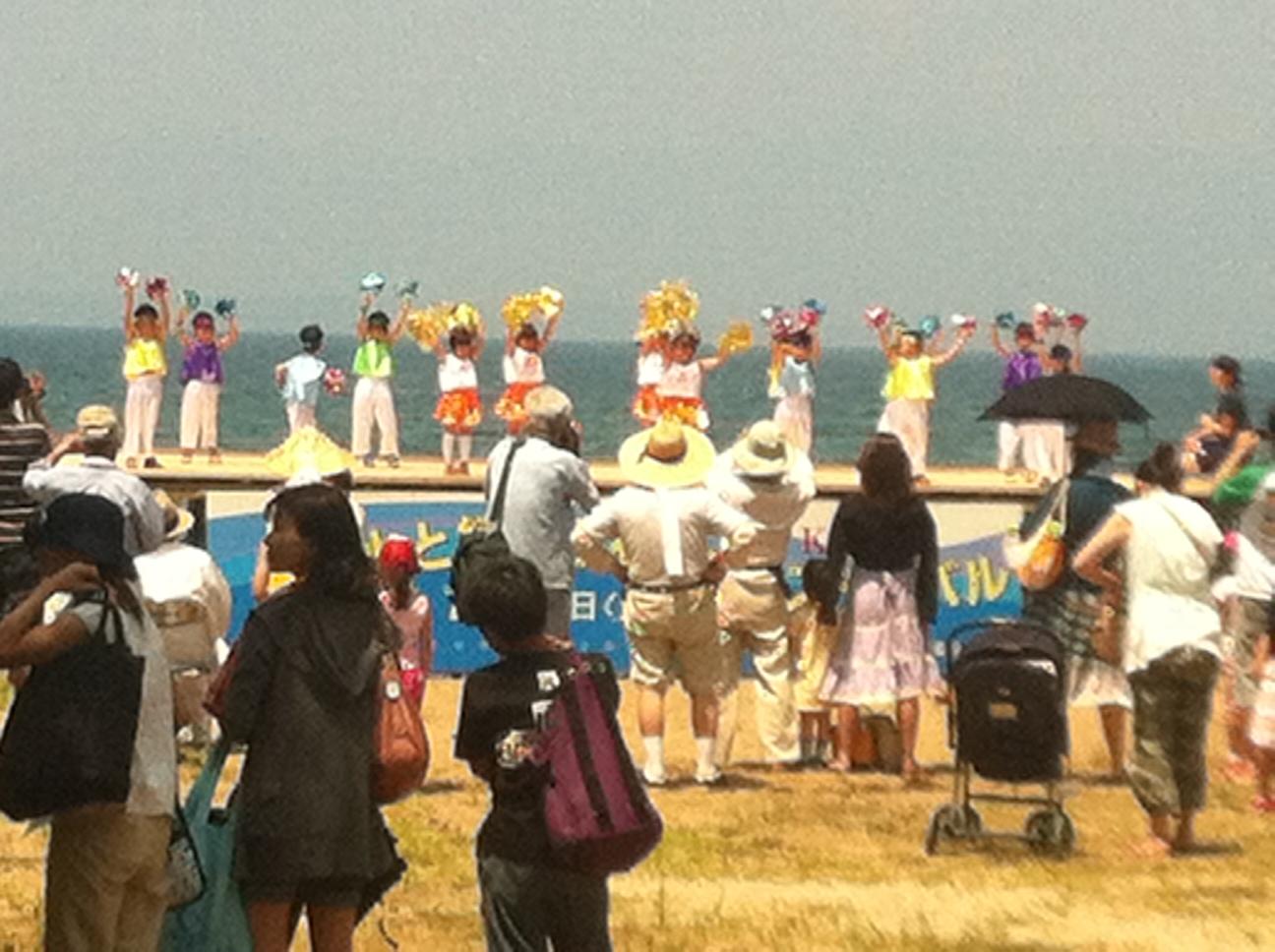 猪苗代湖の湖祭り_f0259324_1222210.jpg