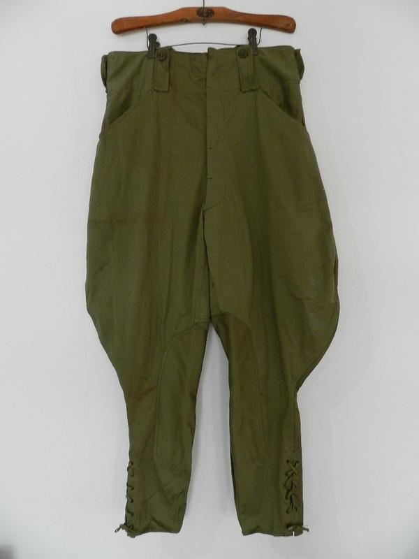 Belgian army 50\'s jodhpurs pants dead stock_f0226051_11594470.jpg
