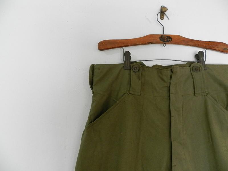Belgian army 50\'s jodhpurs pants dead stock_f0226051_1201417.jpg