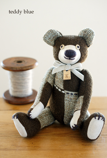 wooly woody brown teddy  ウーリィウッディ ブラウンテディ_e0253364_10451446.jpg