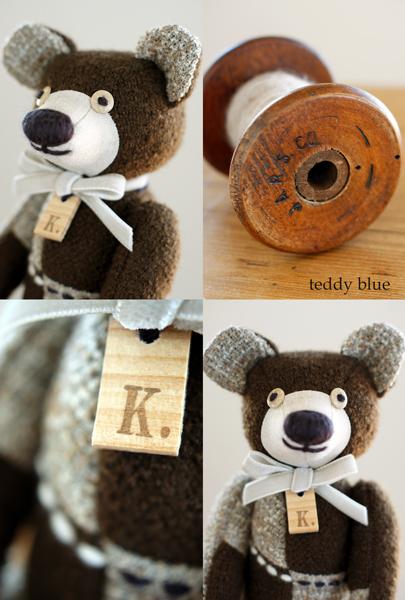 wooly woody brown teddy  ウーリィウッディ ブラウンテディ_e0253364_10453476.jpg