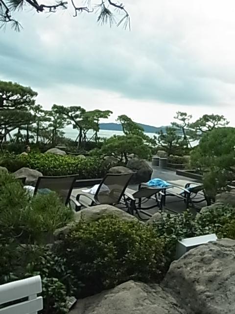 3日目 パラダイスホテル海雲台 サウナ プール BAR_e0141982_6125085.jpg