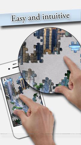 集中力を鍛えよう!ジグソーパズルが楽しめるiPhoneアプリ「Puzzle Man 3」(無料)_d0174998_16481019.jpg