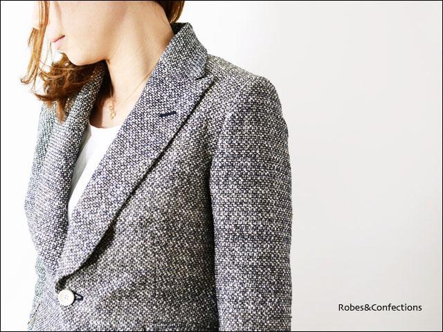 Robes&Confections  CARMICNANO MIX TWEED JACKET_f0051306_16381245.jpg