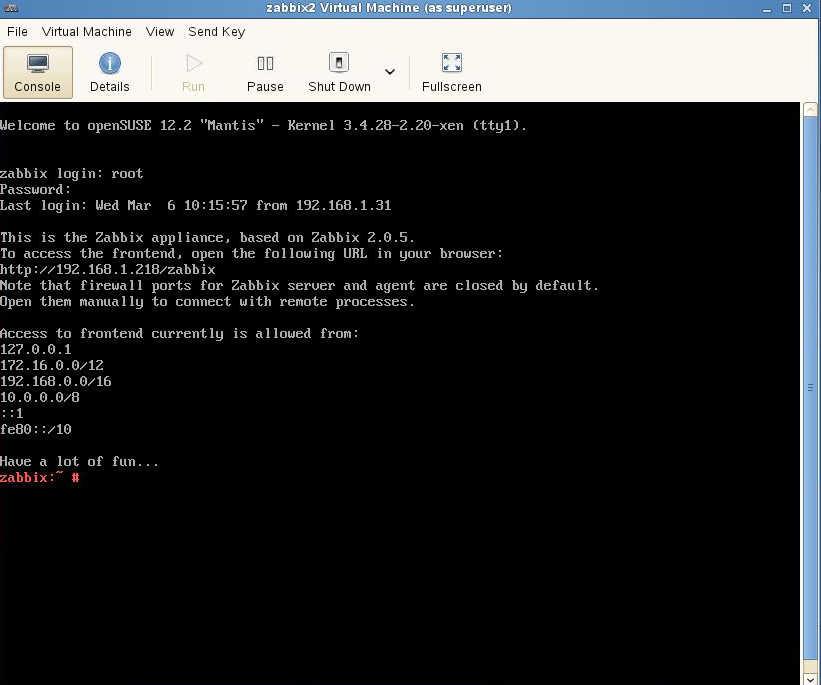 SUSE Studio から Zabbix 管理ツールの導入_a0056607_155555.jpg