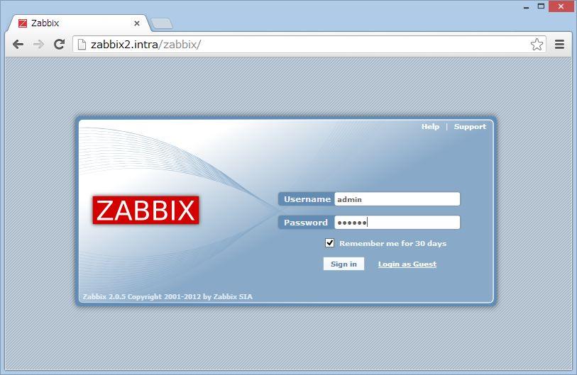 SUSE Studio から Zabbix 管理ツールの導入_a0056607_1565721.jpg