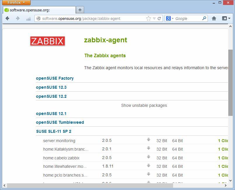 SUSE Studio から Zabbix 管理ツールの導入_a0056607_1585499.jpg