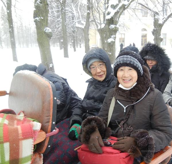'13,3,9(土)ロシア旅⑩楽しかったトロイカ試乗!_f0060461_2195524.jpg