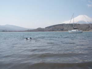 初泳ぎ〜〜〜!_b0084194_1511111.jpg