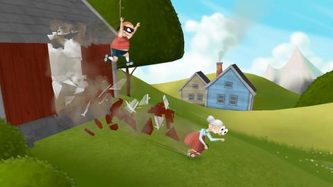 今なら無料!おばあちゃんのアクションゲームが楽しめるiPhoneアプリ「Granny Smith」_d0174998_13263087.jpg
