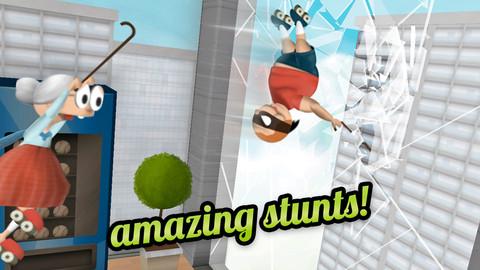 今なら無料!おばあちゃんのアクションゲームが楽しめるiPhoneアプリ「Granny Smith」_d0174998_13385075.jpg