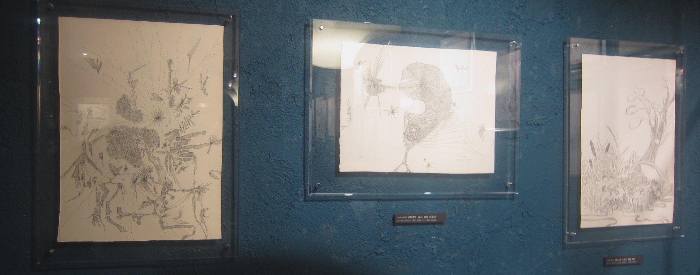 1964)「内山睦 展 『幻想植物譜』」 カフェエスキス 2月14日(木)~3月12日(火)_f0126829_745322.jpg