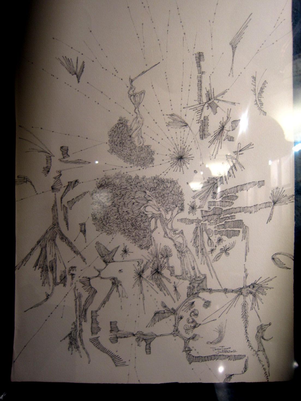 1964)「内山睦 展 『幻想植物譜』」 カフェエスキス 2月14日(木)~3月12日(火)_f0126829_7462553.jpg