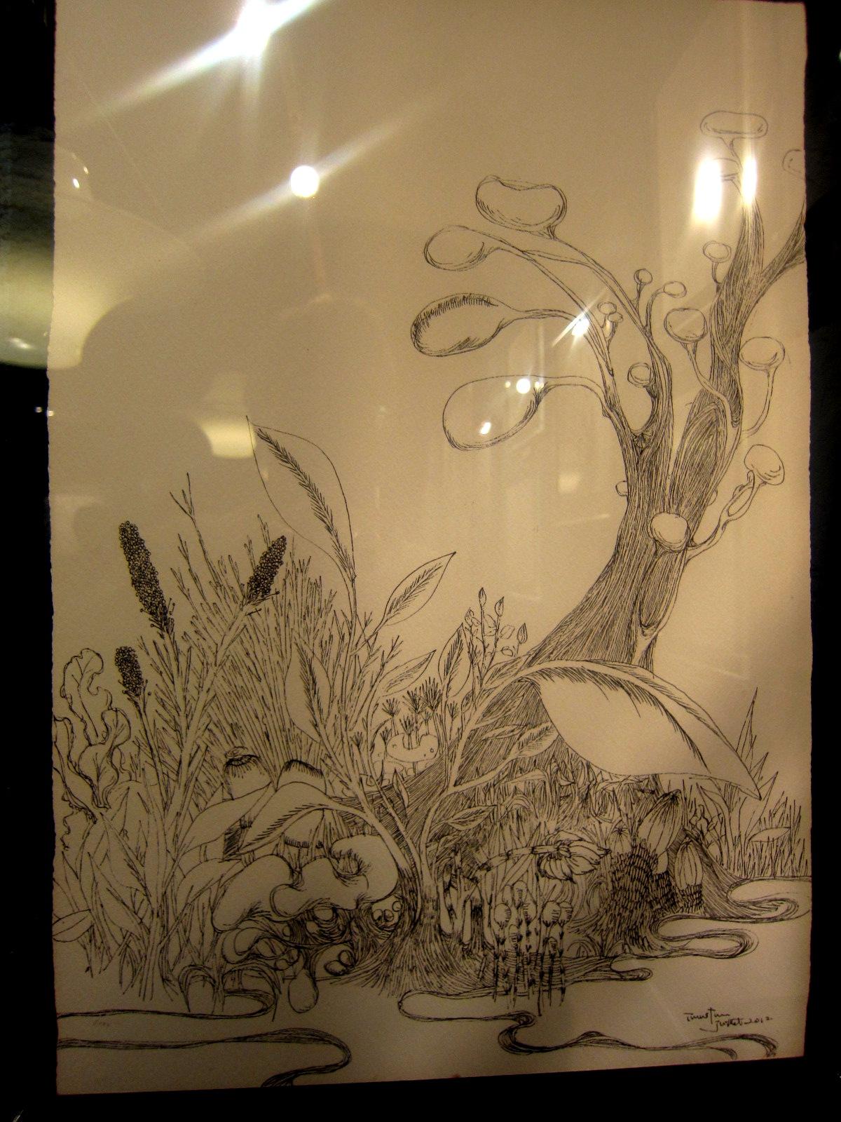 1964)「内山睦 展 『幻想植物譜』」 カフェエスキス 2月14日(木)~3月12日(火)_f0126829_7465985.jpg