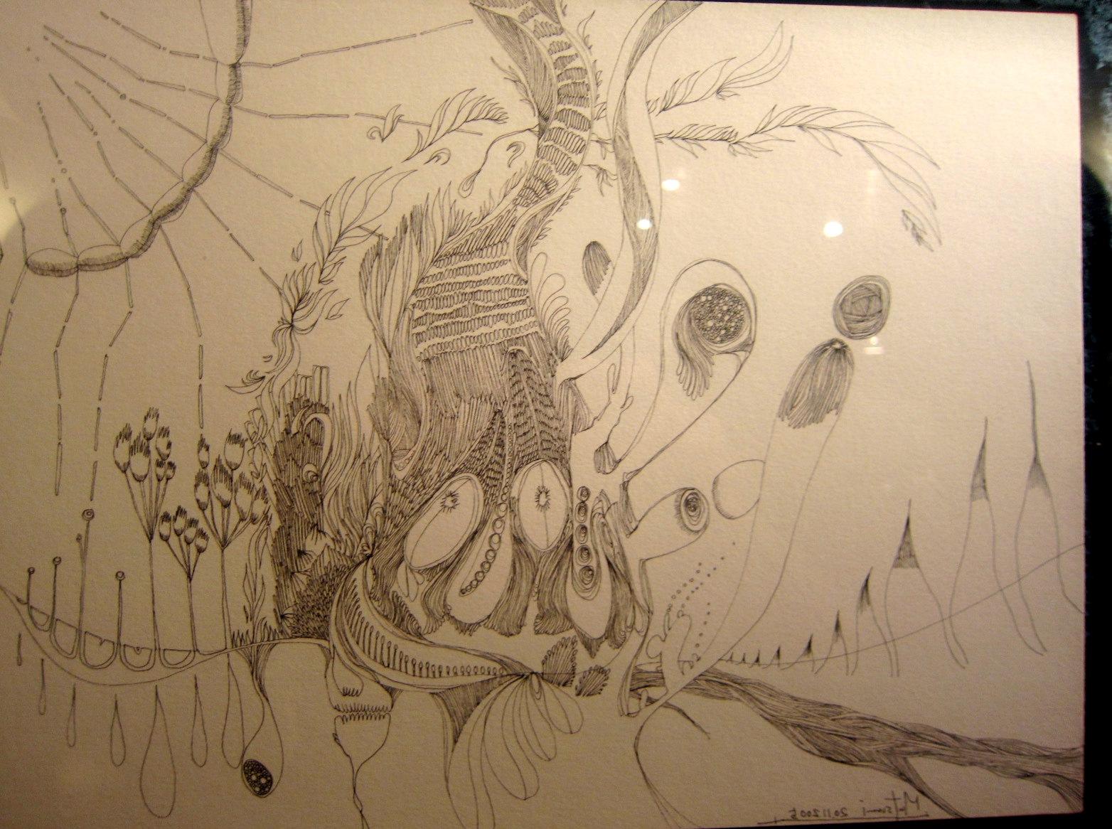 1964)「内山睦 展 『幻想植物譜』」 カフェエスキス 2月14日(木)~3月12日(火)_f0126829_8192163.jpg
