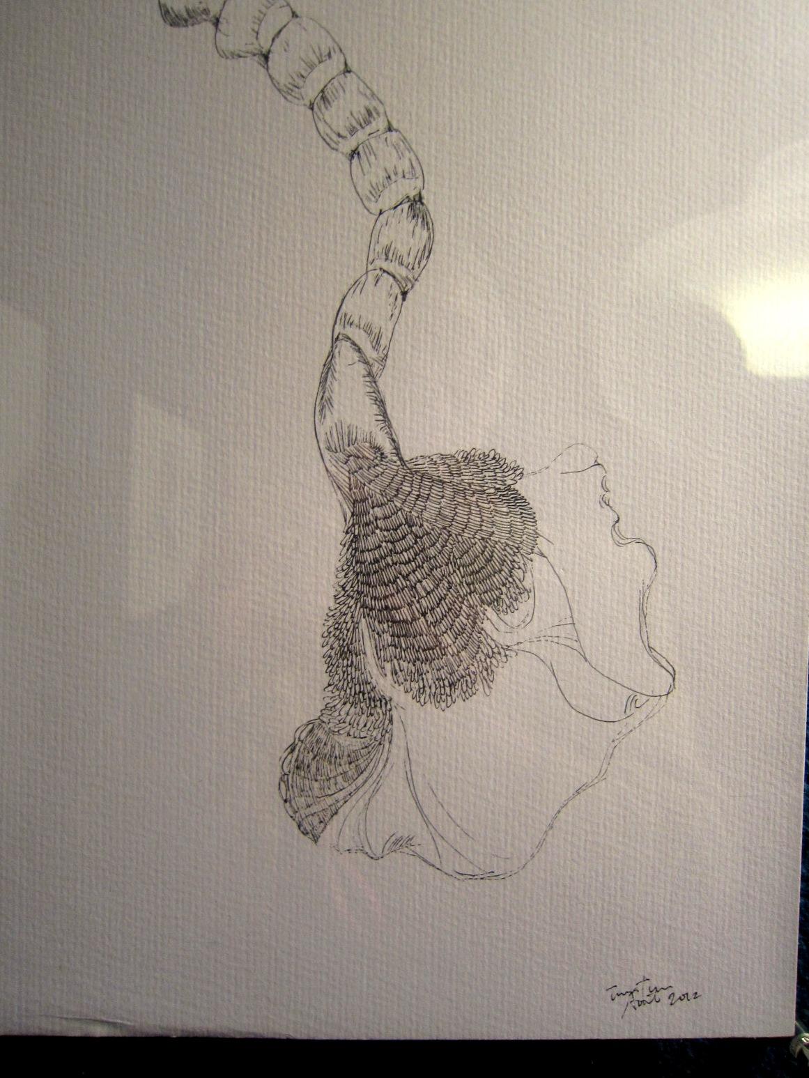 1964)「内山睦 展 『幻想植物譜』」 カフェエスキス 2月14日(木)~3月12日(火)_f0126829_8223435.jpg