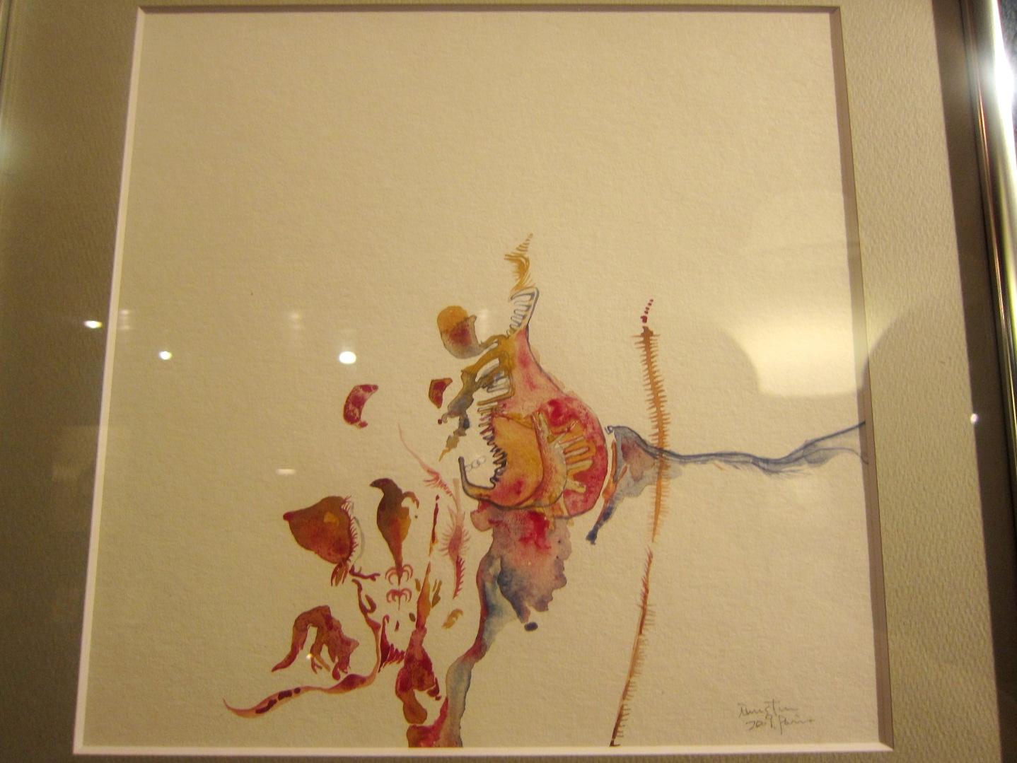 1964)「内山睦 展 『幻想植物譜』」 カフェエスキス 2月14日(木)~3月12日(火)_f0126829_827287.jpg