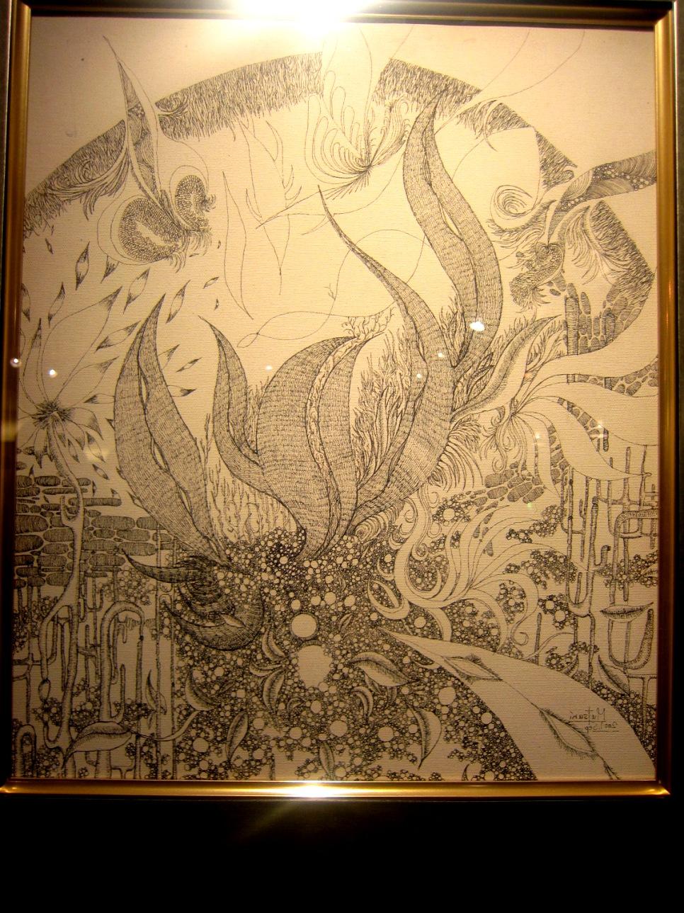 1964)「内山睦 展 『幻想植物譜』」 カフェエスキス 2月14日(木)~3月12日(火)_f0126829_9103651.jpg