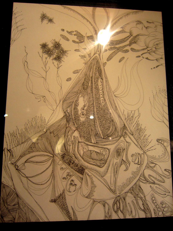 1964)「内山睦 展 『幻想植物譜』」 カフェエスキス 2月14日(木)~3月12日(火)_f0126829_951842.jpg