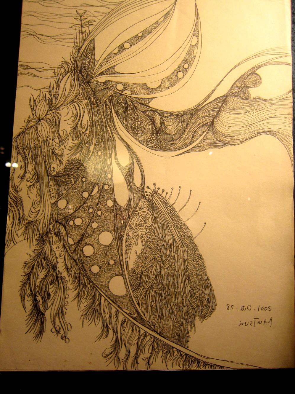 1964)「内山睦 展 『幻想植物譜』」 カフェエスキス 2月14日(木)~3月12日(火)_f0126829_953948.jpg