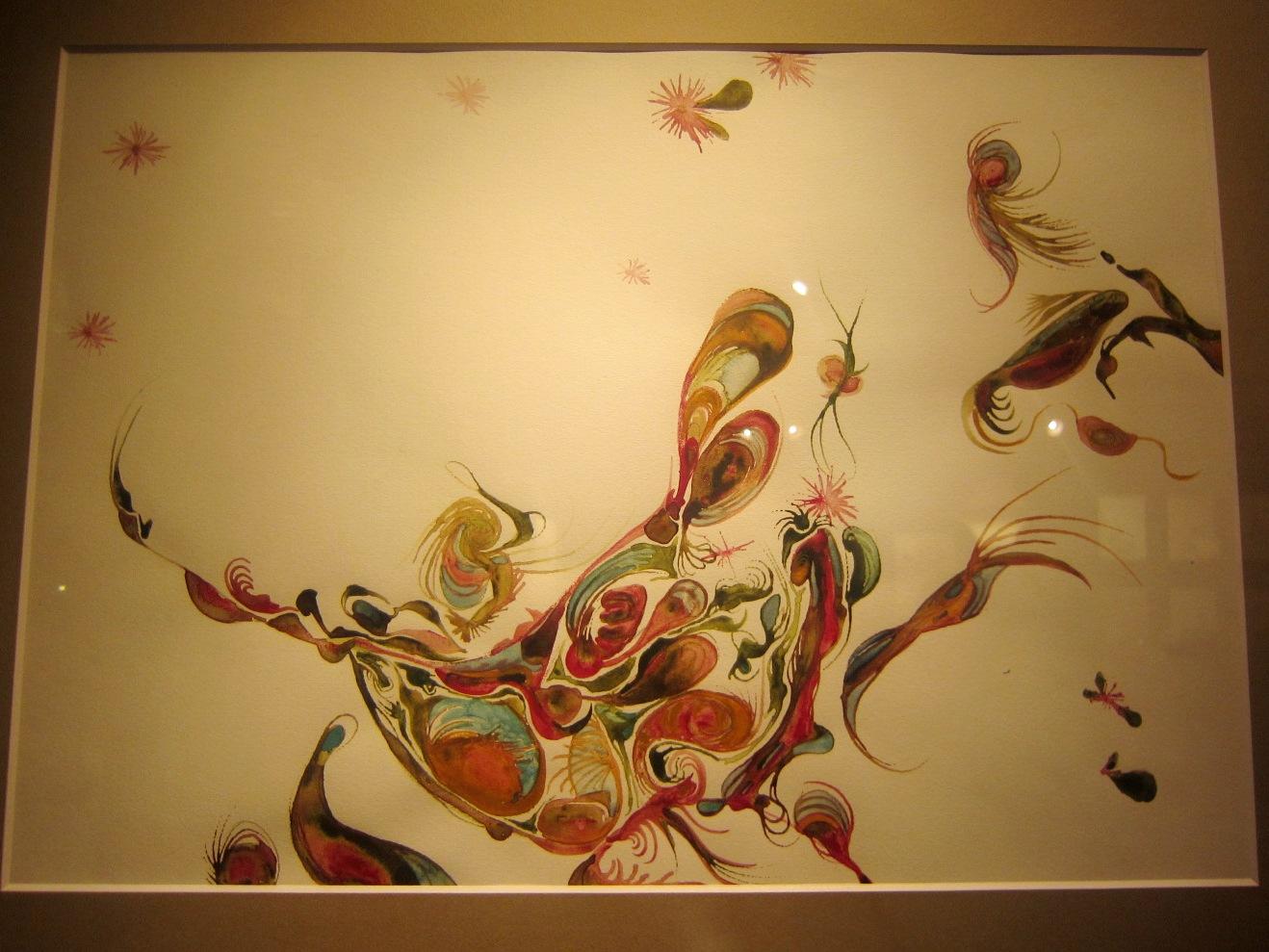 1964)「内山睦 展 『幻想植物譜』」 カフェエスキス 2月14日(木)~3月12日(火)_f0126829_983716.jpg