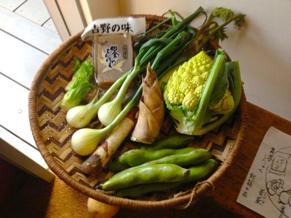 秋篠の森  食の円居  なず菜_e0292546_21122259.jpg