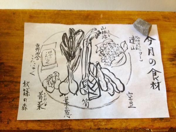 秋篠の森  食の円居  なず菜_e0292546_2112244.jpg