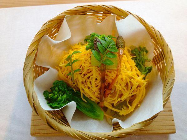 秋篠の森  食の円居  なず菜_e0292546_21123772.jpg
