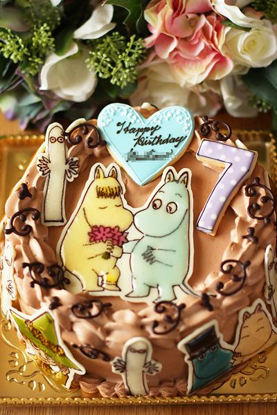 ムーミンのお誕生日ケーキ_f0149855_1752847.jpg