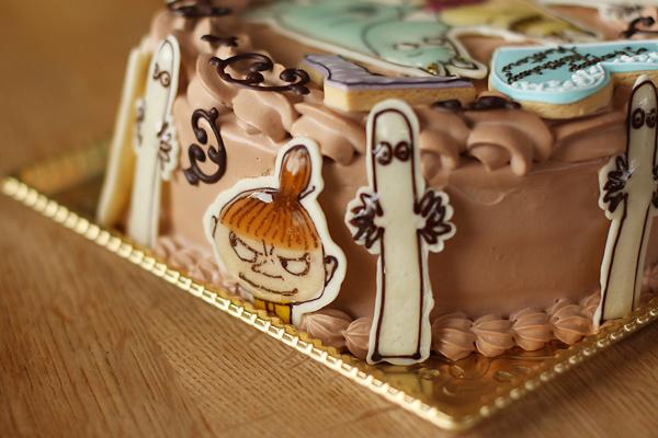 ムーミンのお誕生日ケーキ_f0149855_1753118.jpg