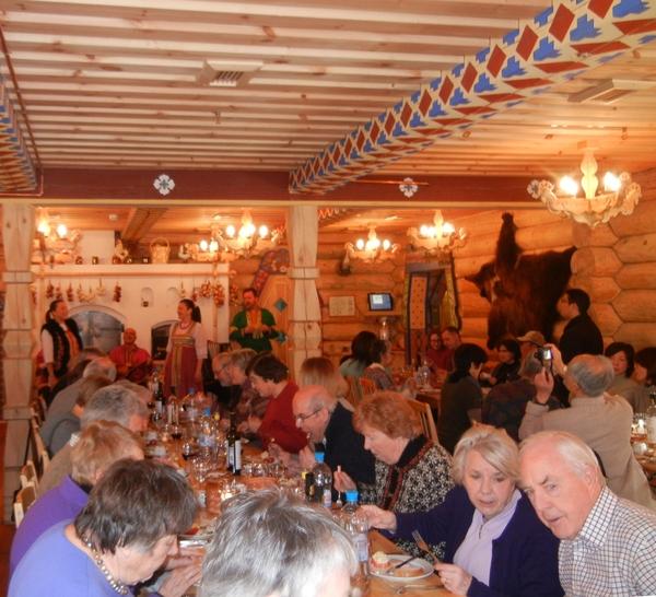 '13,3,10(日)ロシア旅⑪プーチン大統領お気に入りのレストラン!_f0060461_20382865.jpg